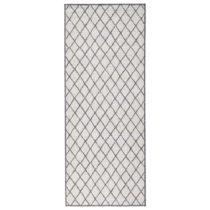 Sivý vzorovaný obojstranný koberec Bougari Malaga, 80×...