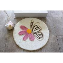 Kúpeľňová predložka s motívom kvetiny Aless...