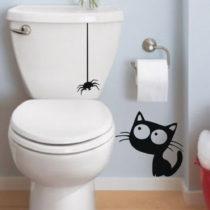 Samolepka Ambiance Cat And Spider