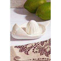 Biely porcelánový odšťavovač citrusov Kutahya Reamer