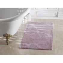 Fialová kúpeľňová predložka zo 100% bavlny ...