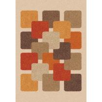 Hnedo-béžový koberec Universal Boras, 57 x 110 cm