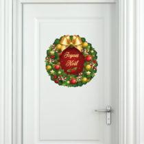 Vianočná samolepka Ambiance Merry Christmas
