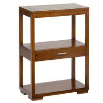 Príručný stolík so zásuvkou z dreva mindi Santiago Pon...