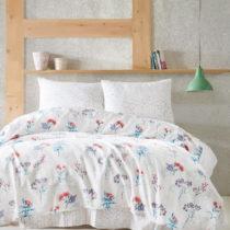 Prikrývka cez posteľ na dvojlôžko s obliečkami na va...