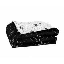 Sivo-čierna obojstranná prikrývka z mikrovlákna DecoKing Hypnos...