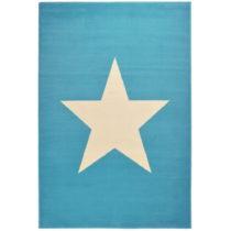 Detský svetlomodrý koberec Hanse Home Star, 140×200 c...