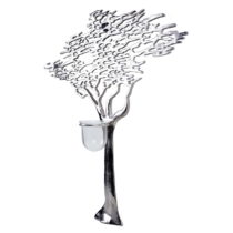 Dekoratívny svietnik v tvare stromu Ego Dekor, výška 63,5 cm