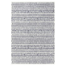 Krémovo-čierny koberec Mint Rugs Madison, 120 × 170 cm