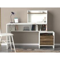 Pracovný stôl s úložným priestorom s detailmi v dekore...
