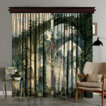 Sada 2 závesov Curtain Runna, 140×260 cm