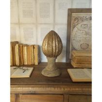 Dekorácia z mangového dreva Orchidea Milano Pinecone, výška 30 ...