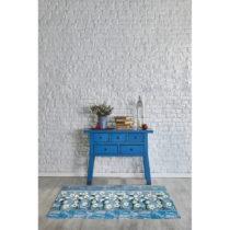 Modrý vysokoodolný koberec Webtappeti Camomilla, 58×1...