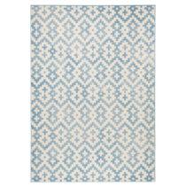 Modro-biely koberec Zala Living Kramla, 70×140cm