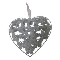 Závesné dekoratívne srdce Antic Line Romance II