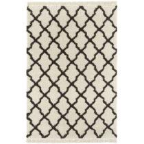 Krémovo-čierny koberec Mint Rugs Marino, 200 x 290 cm