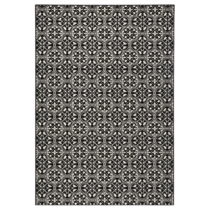 Čierny koberec Hanse Home Gloria Pattern, 80 x 200 cm