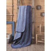Modrá deka Lilian, 200×220 cm