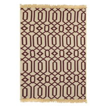 Červeno-béžový koberec Ya Rugs Kenar, 60×&a...