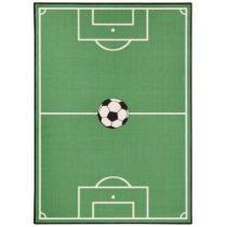 Detský zelený koberec Zala Living Football, 160×240 c...
