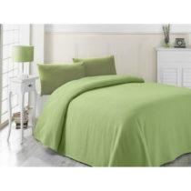 Zelená ľahká prikrývka cez posteľ Yesil, 200&#xA0...