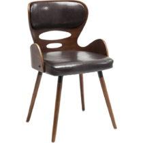 Hnedá jedálenská stolička Kare Design EastSide