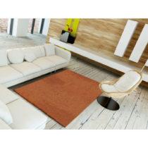 Oranžový koberec Universal Velur Liso Orange, 57 x 110 cm