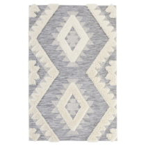 Sivý koberec Mint Rugs Handira Indian, 194 × 290 cm