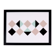 Obraz sømcasa Rhomb, 40×30 cm