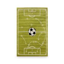 Zelený detský koberec Tactics, 133 × 190 cm