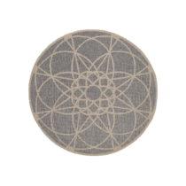 Vysokoodolný koberec vhodný do exteriéru Floorita Tondo Silver, &#x23...