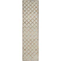 Hnedý koberec Safavieh Anguilla, 66×243 cm