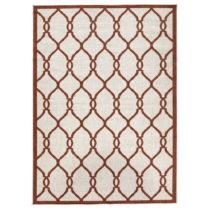 Červený vzorovaný obojstranný koberec Bougari Rimini, 200 x 290...