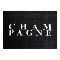 Čierna rohožka Mint Rugs StateMat Champagne, 50 × 70 cm