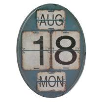 Modrý nástenný kalendár Geese Time
