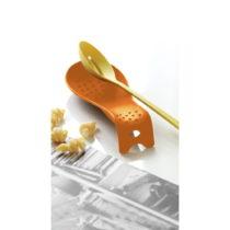 Oranžová lyžica na odkladanie varešky Steel Function Roma