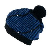 Čierno-modrá dámska čiapka Art of Polo Basia