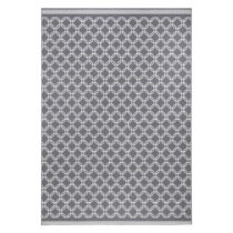 Sivý koberec Zala Living Chain, 70×140cm