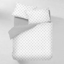 Bavlnené obliečky na dvojlôžko s plachtou COSAS Lucello, 200&a...