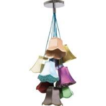 Stropné svietidlo Kare Design Saloon Flowers, výška 116 cm