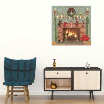 Obraz na plátne Chimney, 45 x 45 cm