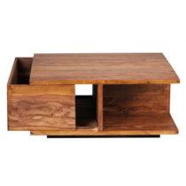 Konferenčný stolík z masívneho palisandrového dreva Sk...