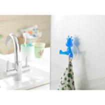 Modrý prísavný háčik v tvare žirafy Compacto...