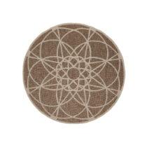 Vysokoodolný koberec vhodný do exteriéru Floorita Tondo Mink, &#x2300...