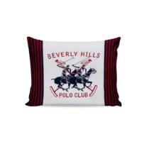 Sada 2 bavlnených obliečok na vankúše Polo Club Red, 50 &#...