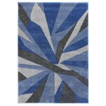 Modro-sivý koberec Flair Rugs Shatter Blue Grey, 160×230&#...