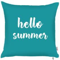 Modrá obliečka na vankúš Apolena Hello Summer, 43&am...