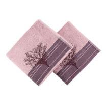 Sada 2 vínových uterákov Infinity, 50×90&...