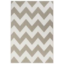 Béžovo-biely koberec vhodný aj do exteriéru Unique, 160&#xA...
