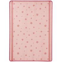 Detský ružový koberec koberec Zala Living Stars&Hearts, 100 &#xD...